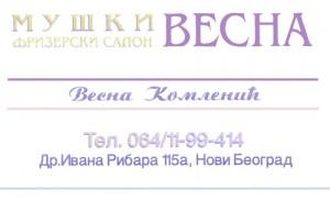 Muski frizer Vesna