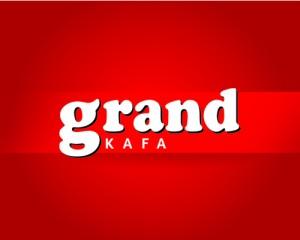 grand kafa logo instanti sa crvenom pozadinom