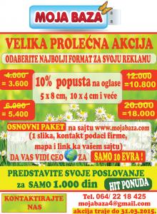 PROLEĆNA AKCIJA 2015.