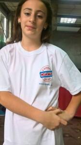 Tamara Žujić sa majicom