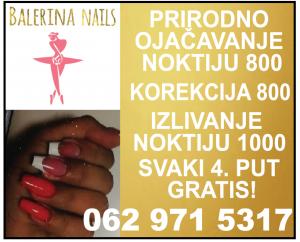 balerina nails