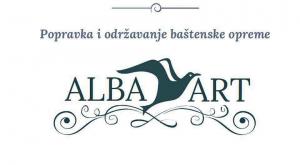 alba art logo