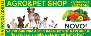 agro pet shop ledine